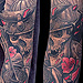 Tattoos - Geisha's, Samurai & Mask Sleeve - 72055